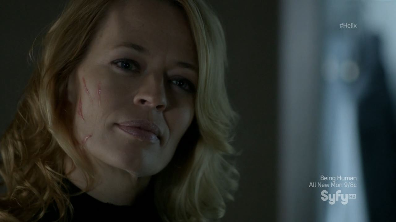 Helix - Bloodline - Constance Sutton (Jeri Ryan) after being confronted by Hatake