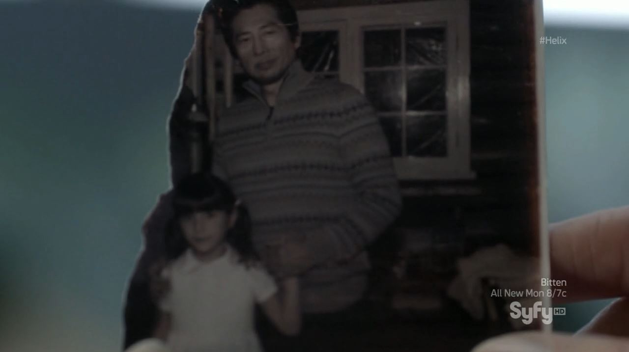 Helix - Bloodline - Picture proving Hatake is Julia's father