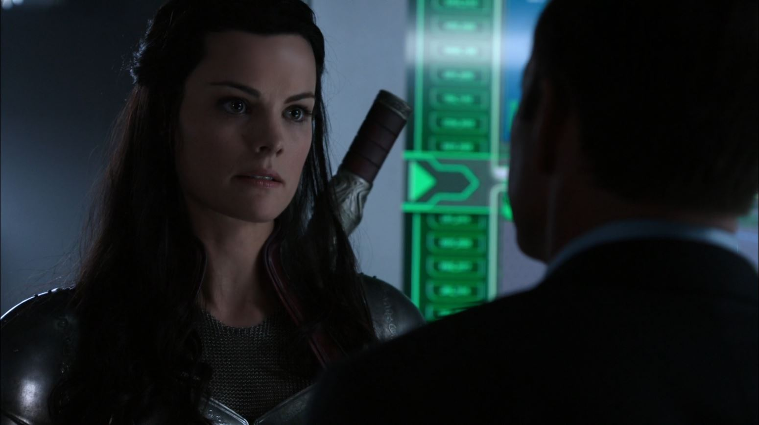 Agents of S.H.I.E.L.D S1Ep15 'Yes Men' - Lady Sif played by Jaime Alexander