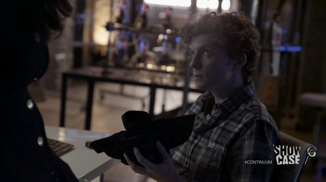 Continuum Season 3 - Minute Man - Erik Knudsen as Alec Sadler