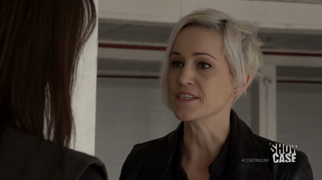 Continuum Season 3 - Minute Man - Garza confronts Sonya
