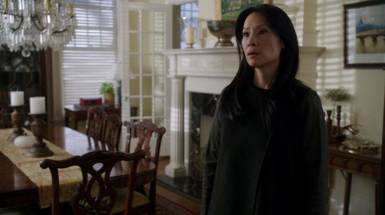 Elementary S2E19 The Many Mouths of Aaron Colville - Lucy Lui as Joan Watson