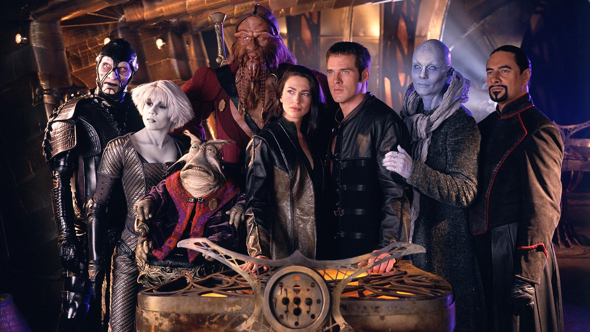 Farscape principal cast