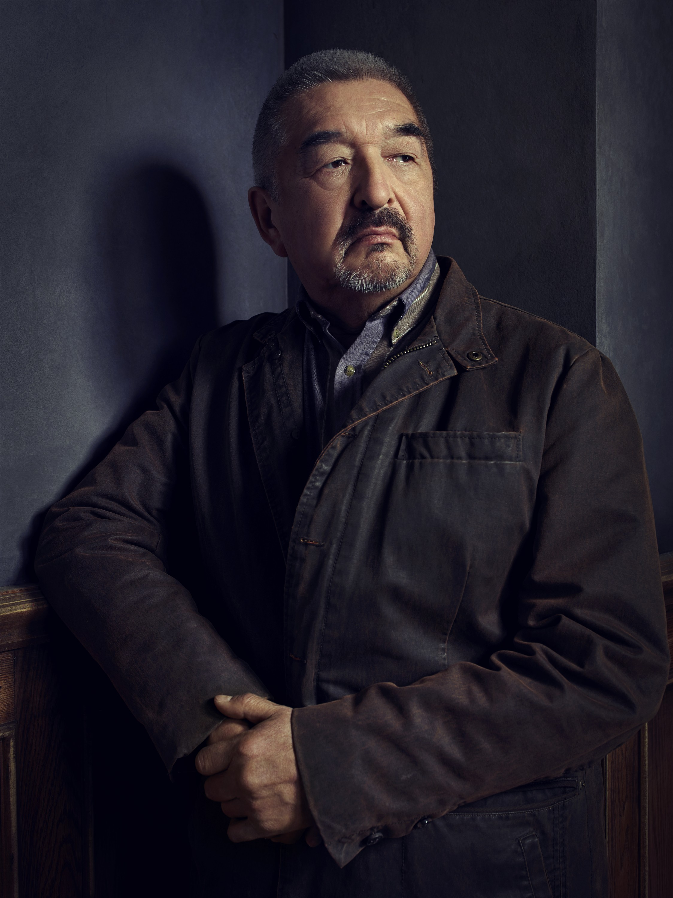 Defiance season 2 - Graham Greene as Rafe McCawley sitting