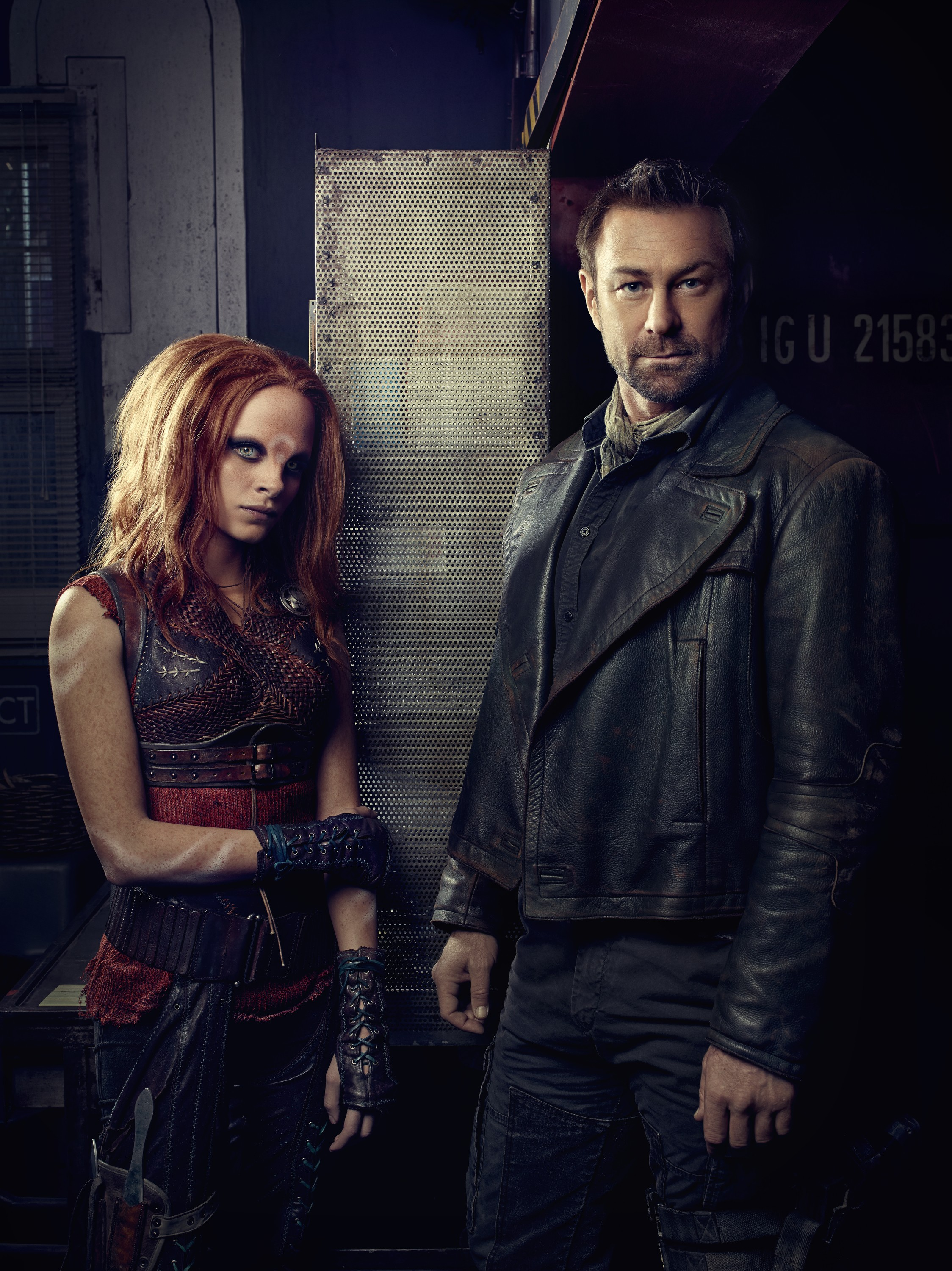 Defiance season 2  - Bowler and Leonidas
