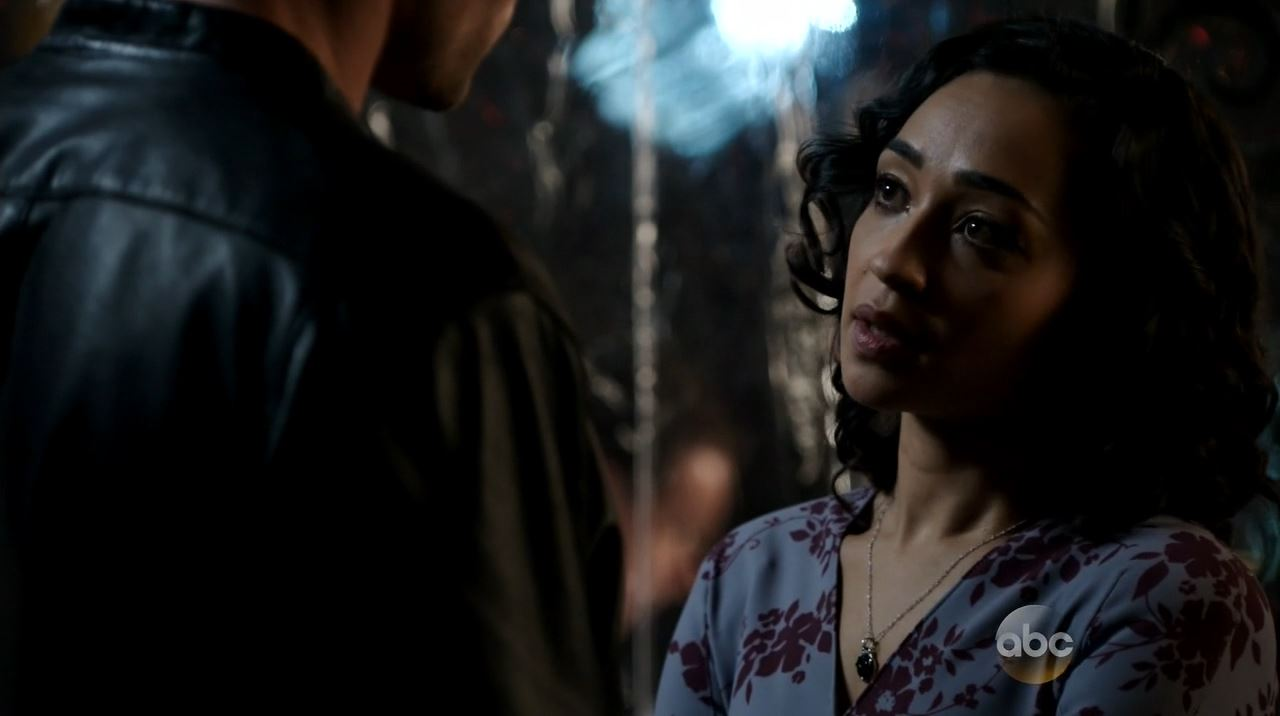 Agents of SHIELD Ragtag - Raina the woman in the flower dress