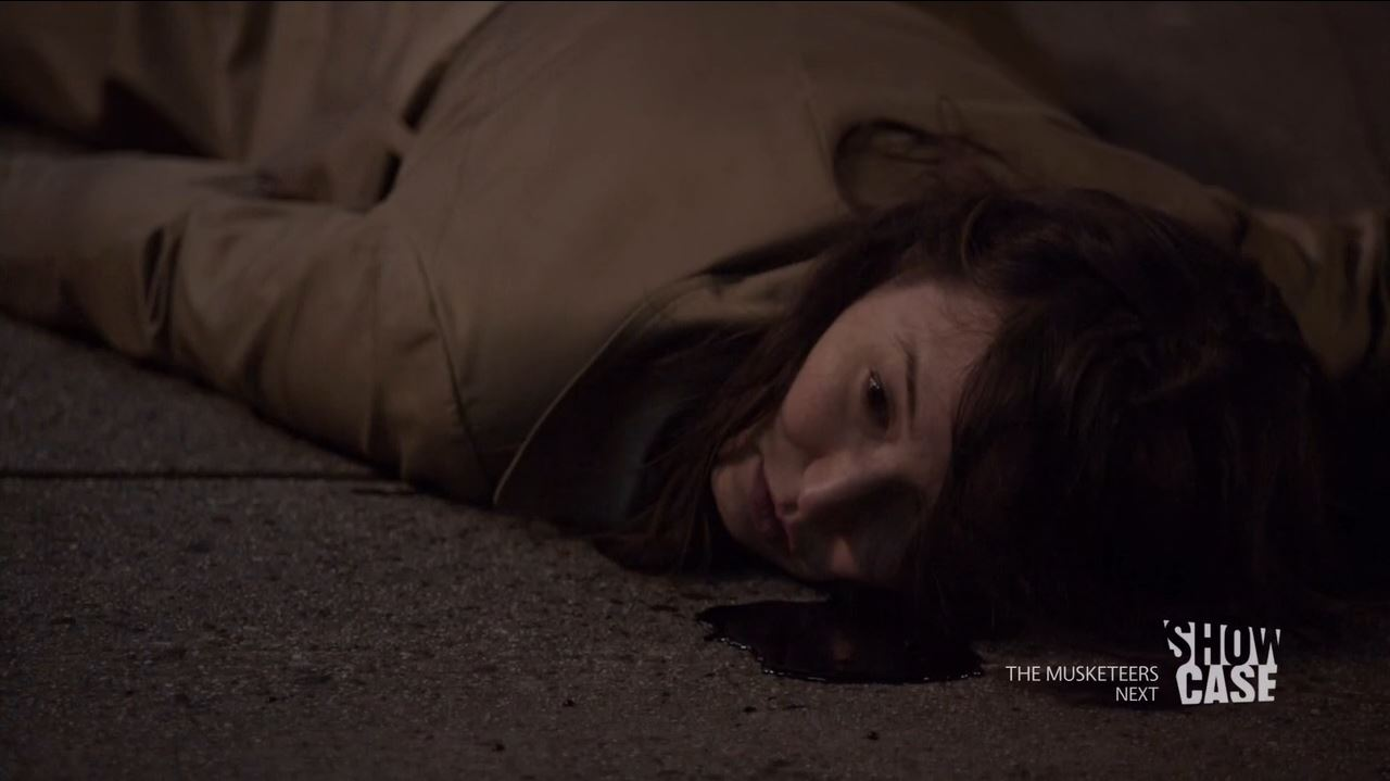 Continuum S3Ep8 So Do Our Minutes Hasten Review - Betty (Jennifer Spence) shot to death