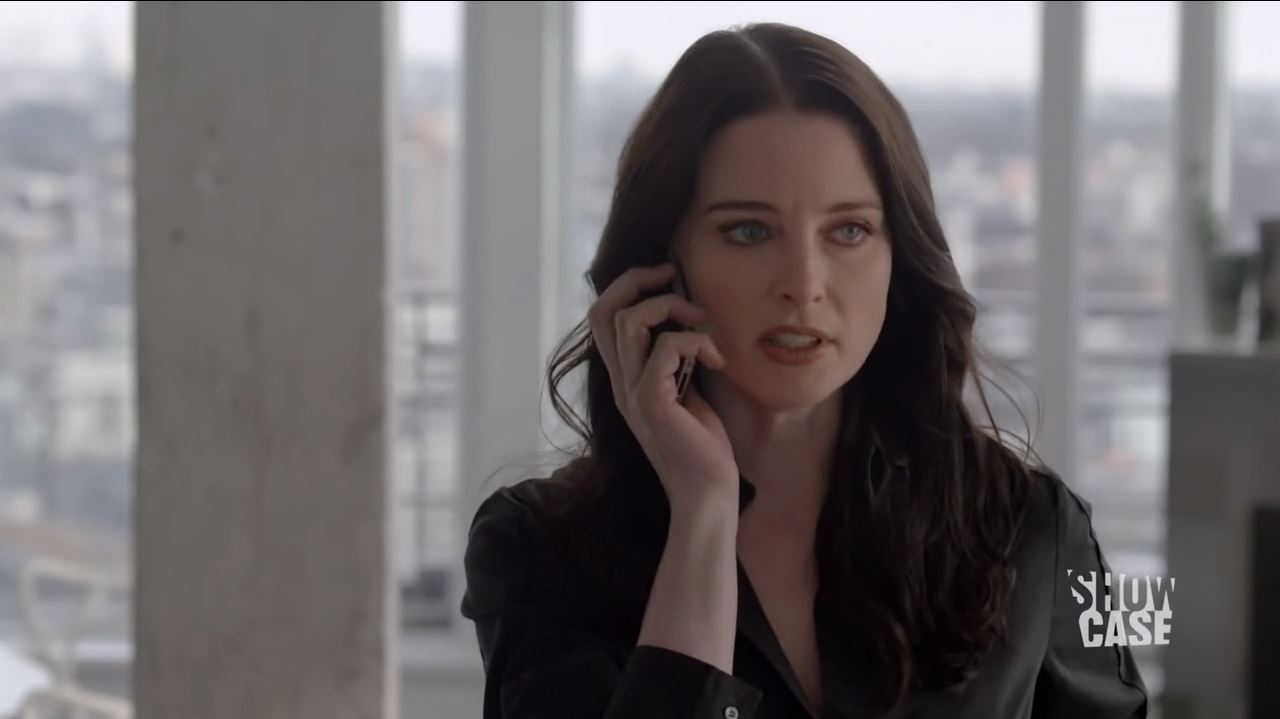 Continuum S3Ep8 So Do Our Minutes Hasten Review - Rachel Nichols as Kiera Cameron