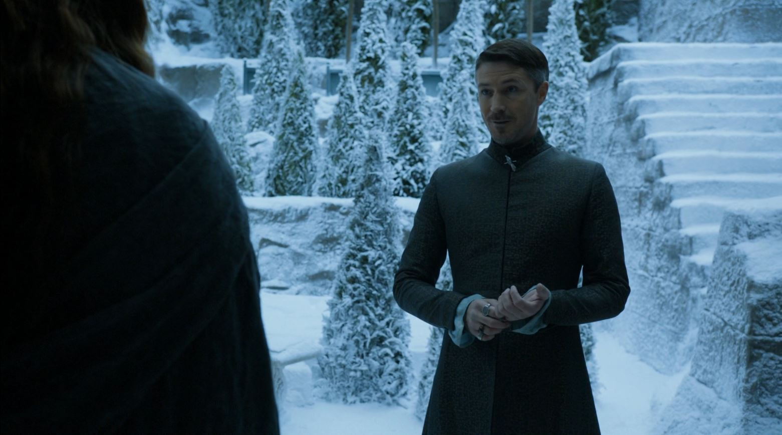 Game Of Thrones S4Ep7 Mockingbird Review - Aidan Gillen as Petry Baelish in The Vale
