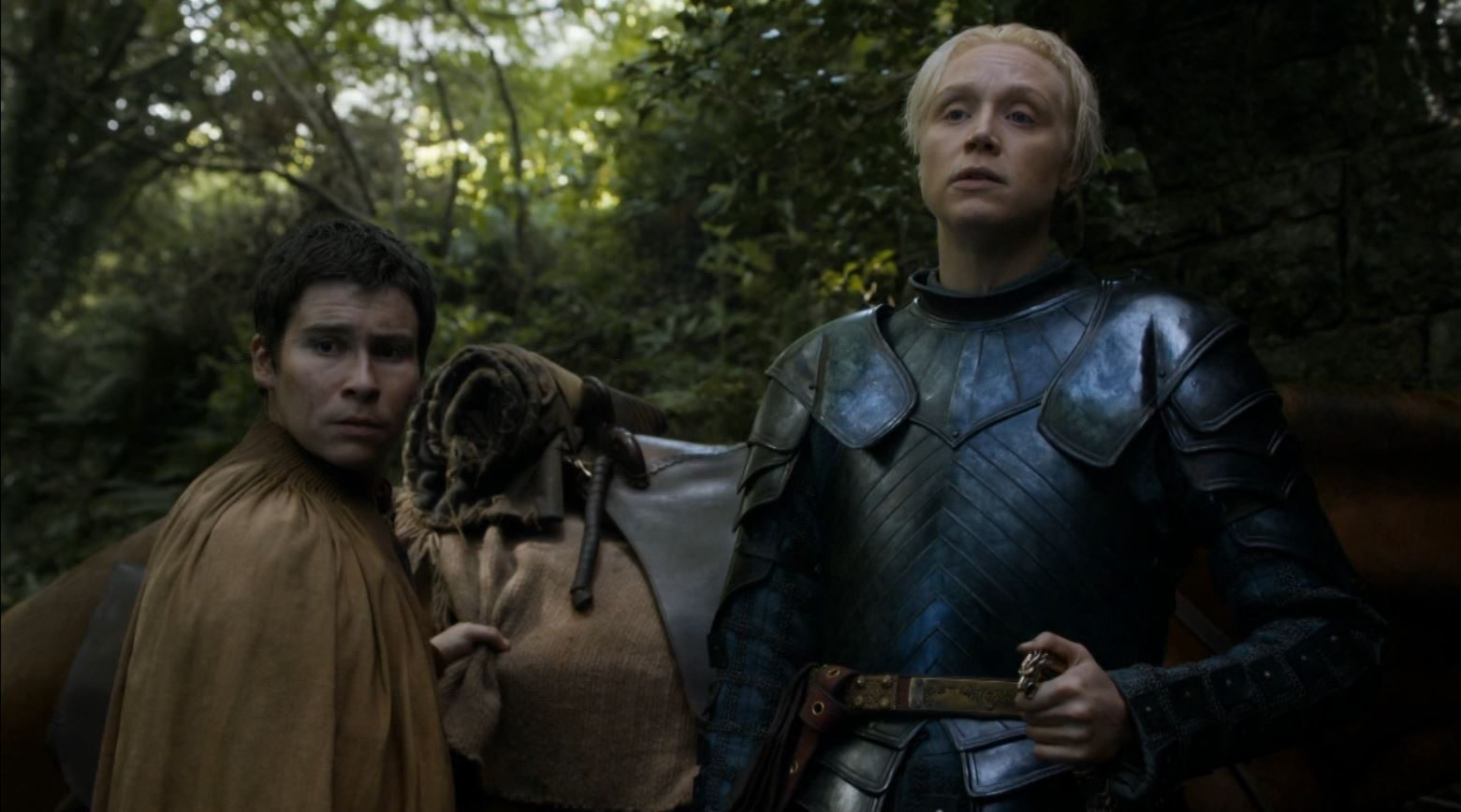 Game Of Thrones S4Ep7 Mockingbird Review - Lady Brienne and Podrick trying to find Sansa