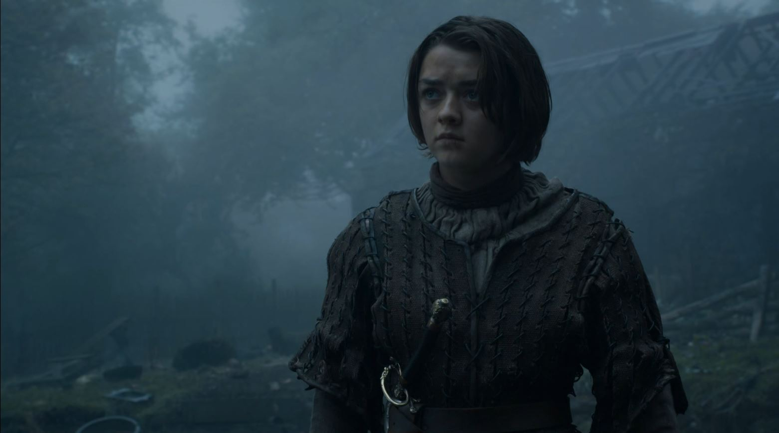 Game Of Thrones S4Ep7 Mockingbird Review - Maisie Williams as Arya Stark