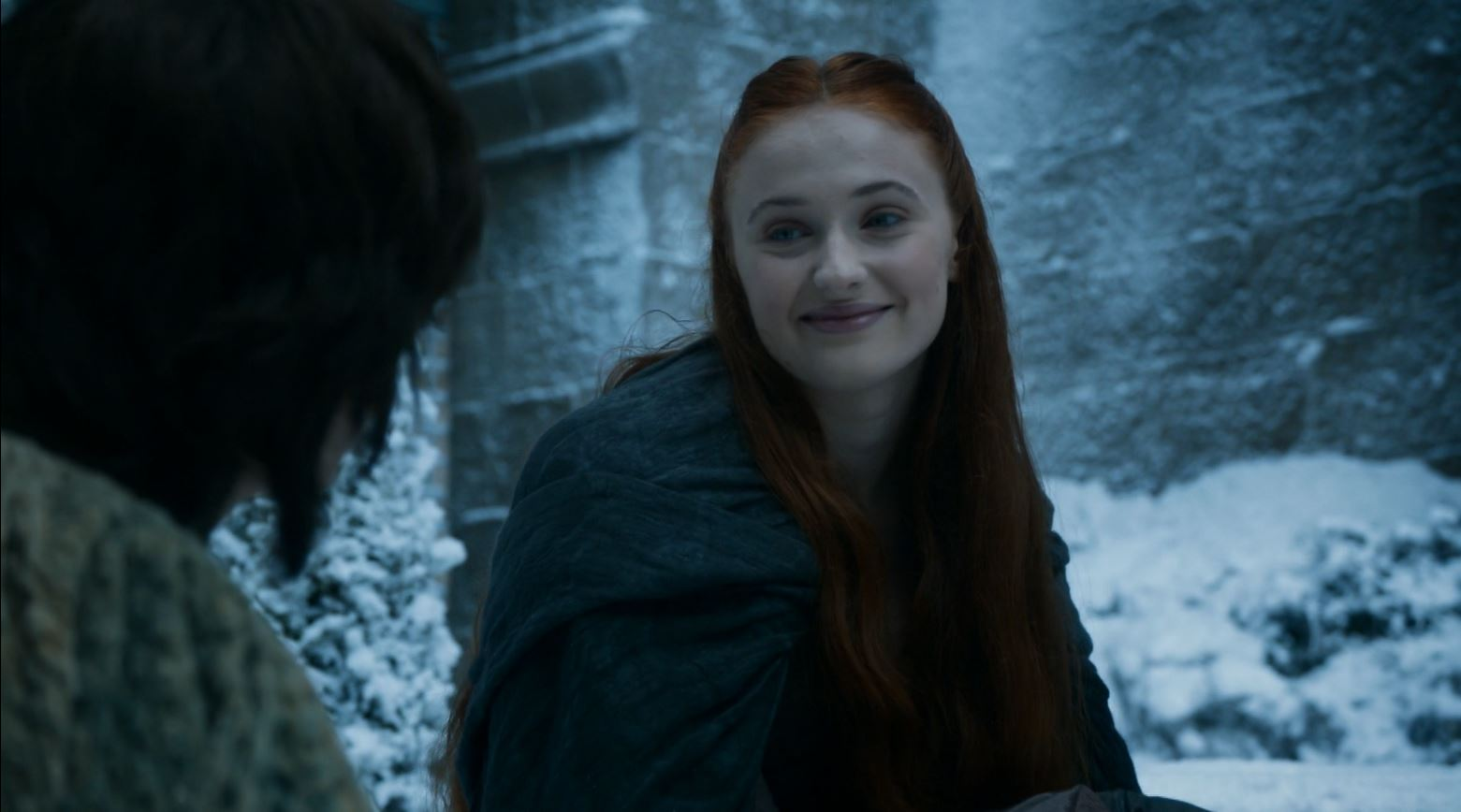 Game Of Thrones S4Ep7 Mockingbird Review - Sophie Turner as Sansa Stark in The Vale