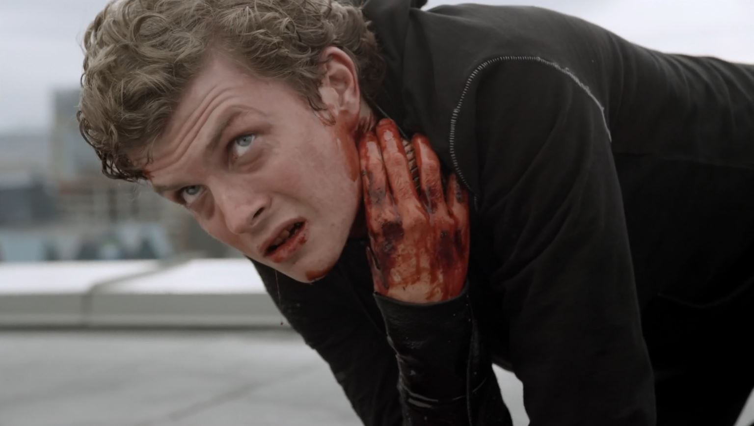 Continuum Season 3 Finale Last Minute Review - Erik Knudsen as Evil Alec Sadler Dying