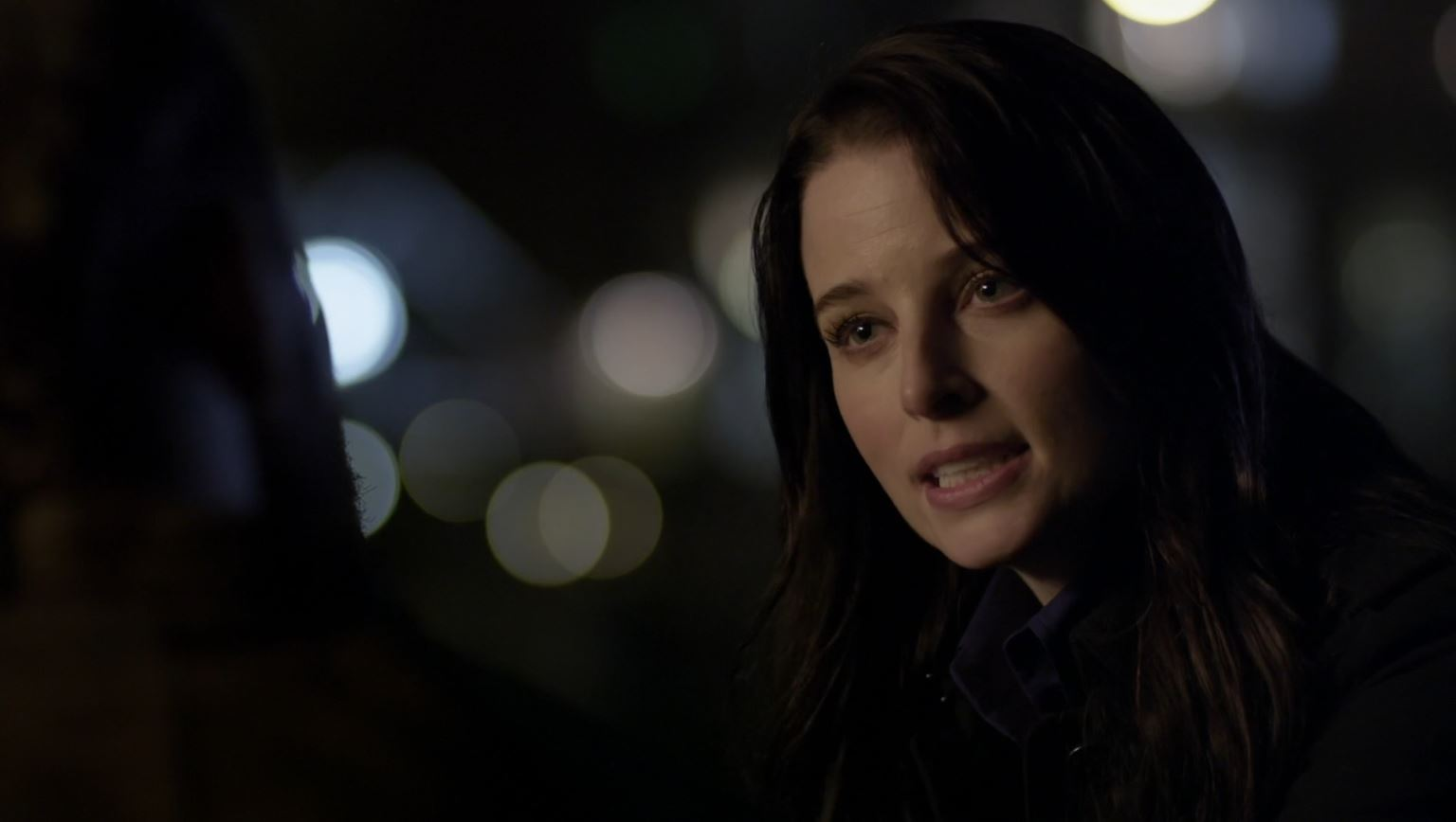 Continuum Season 3 Finale Last Minute Review - Rachel Nichols as Kiera talking to Brad