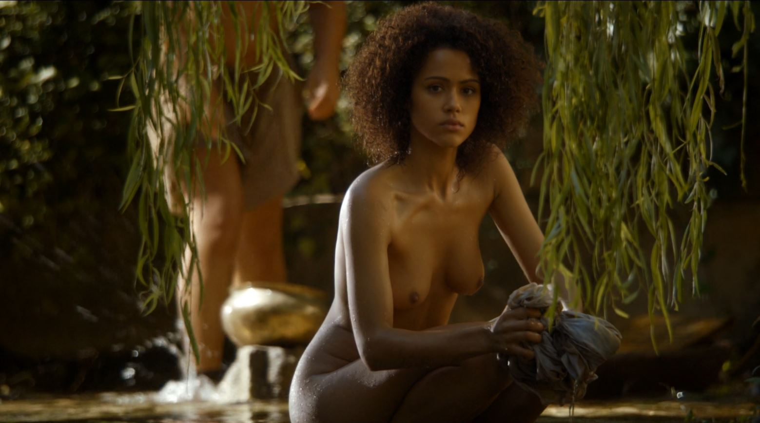Game of Thrones 'The Mountain and The Viper' Review http://scifiempire.net Game Of Thrones - Missandei nude (Nathalie Emmanuel)
