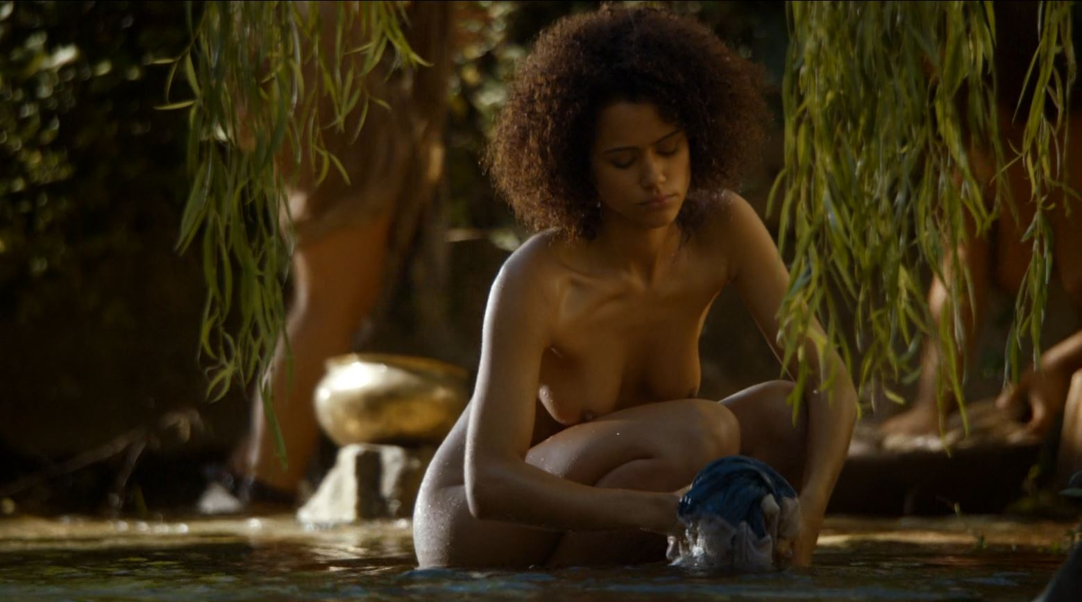 Game of Thrones 'The Mountain and The Viper' Review http://scifiempire.net Game Of Thrones - Nathalie Emmanuel nude as Missandei