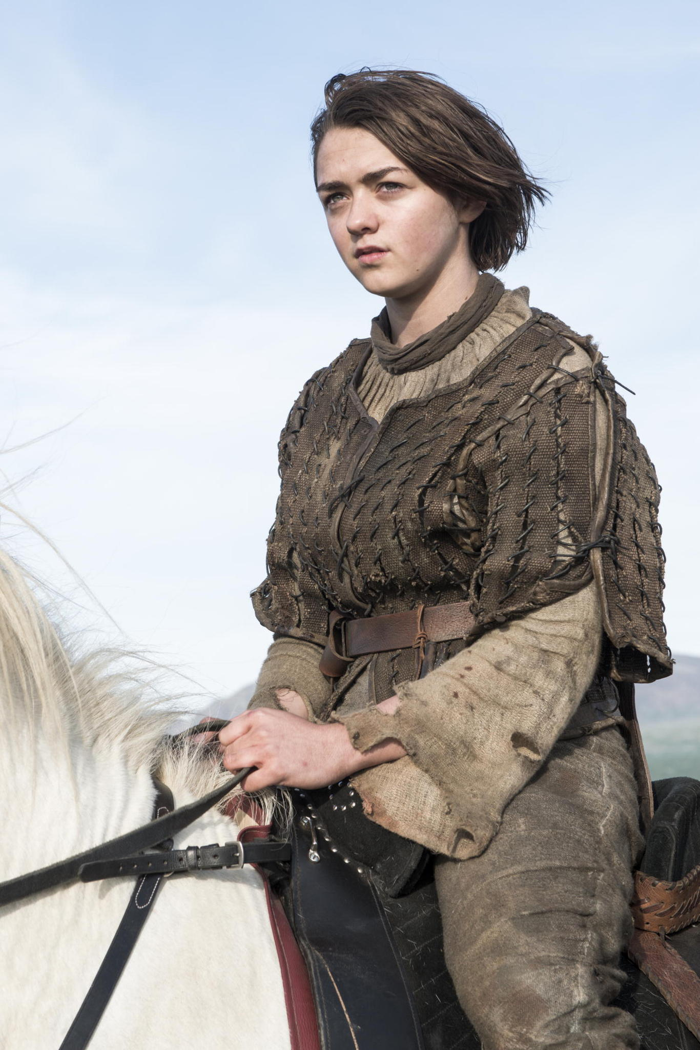 Game of Thrones Season 4 Finale Preview The Children - Arya on horseback www.scifiempire.net