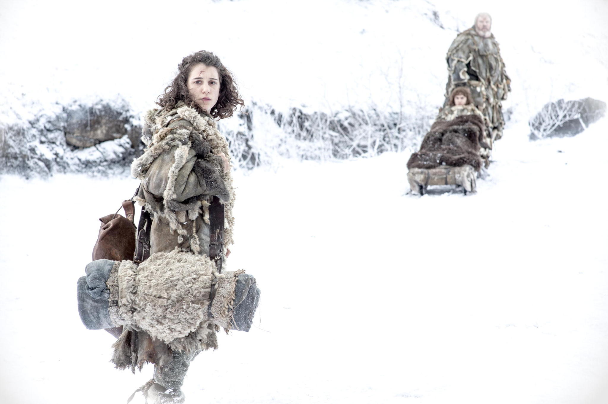 Game of Thrones Season 4 Finale Preview The Children - Bran making his way north www.scifiempire.net