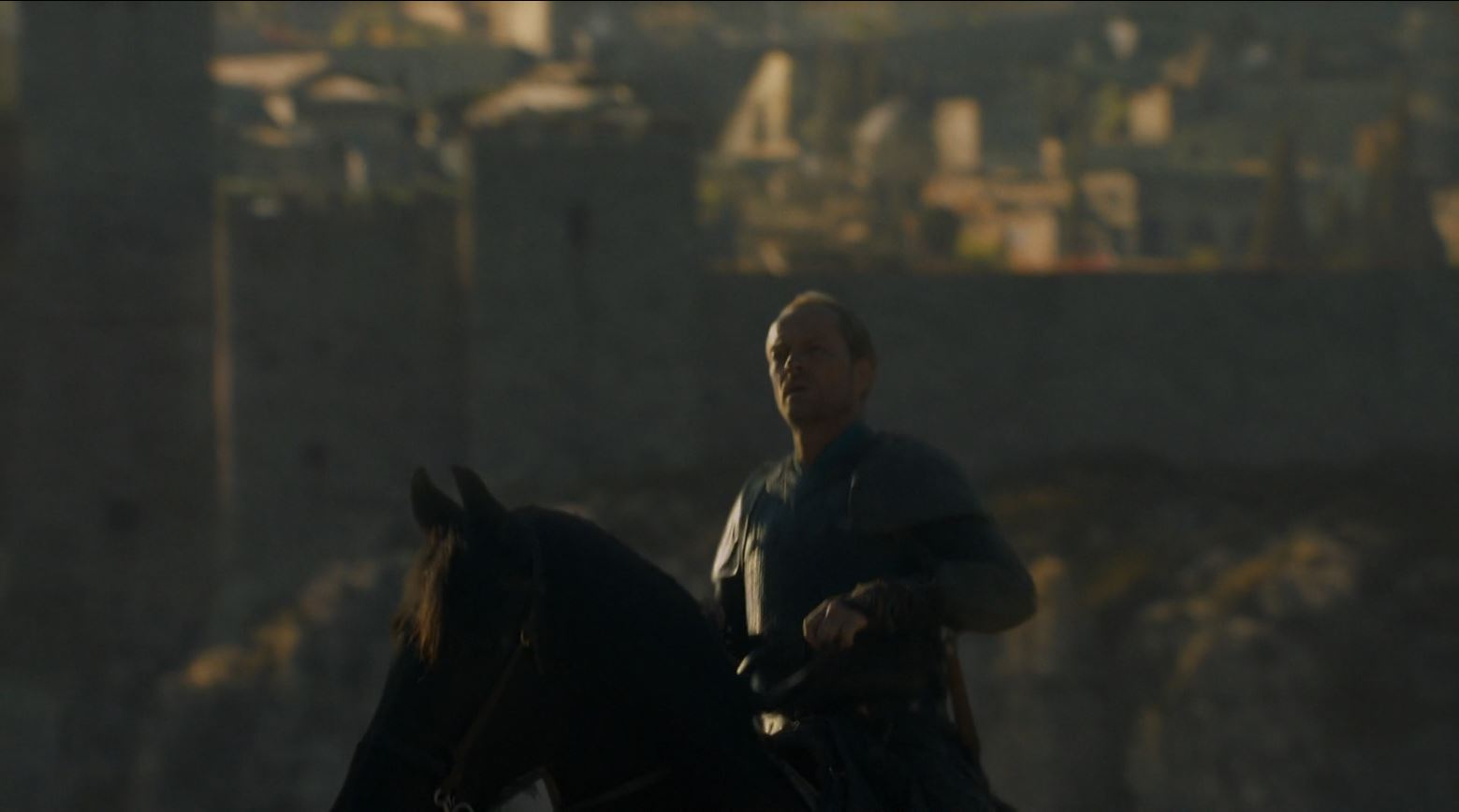 Game of Thrones 'The Mountain and The Viper' Review http://scifiempire.net Game of Thrones - Ser Jorah rides away from Meereen