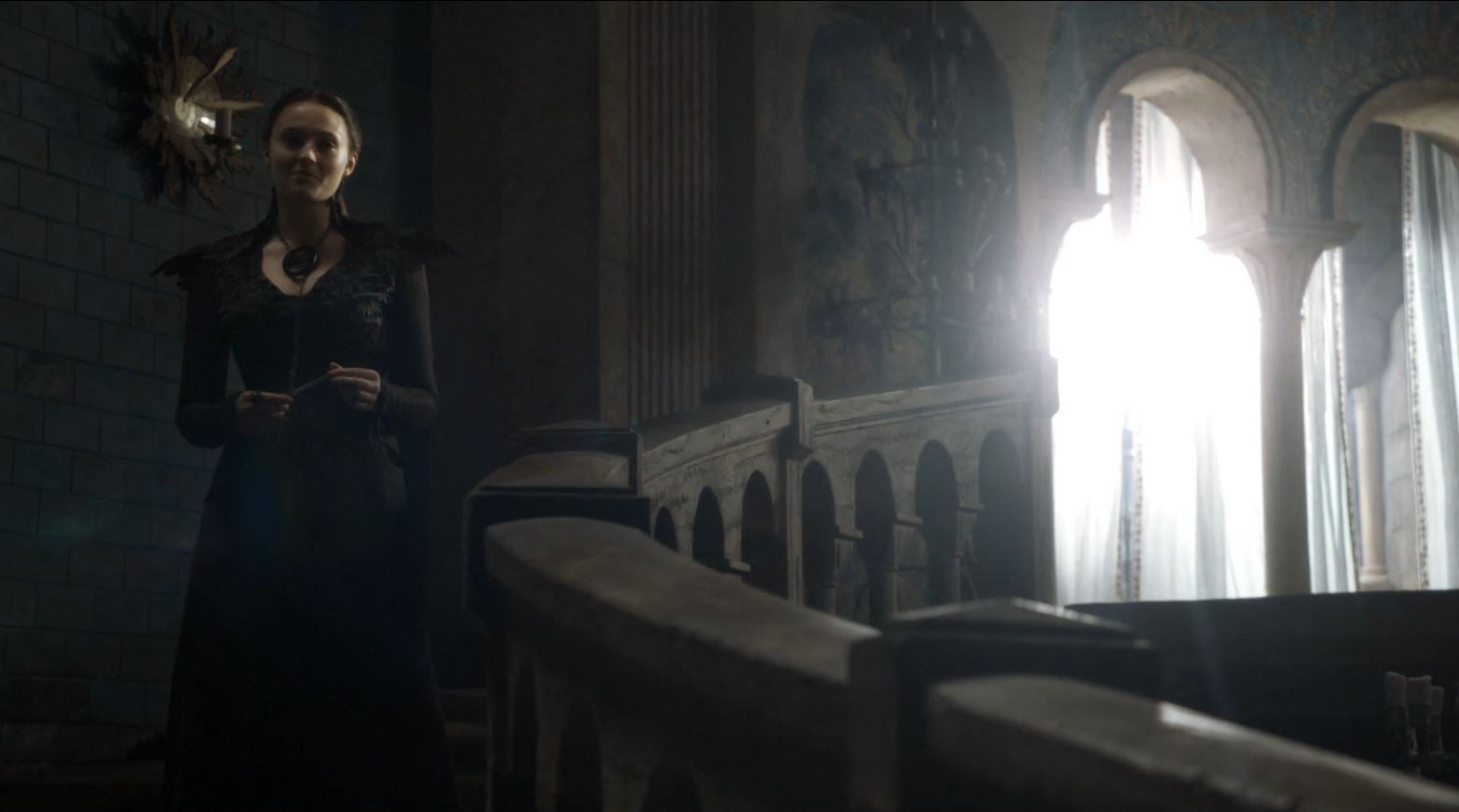 Game of Thrones 'The Mountain and The Viper' Review http://scifiempire.net Game of Thrones - Sansa in corset dress hot