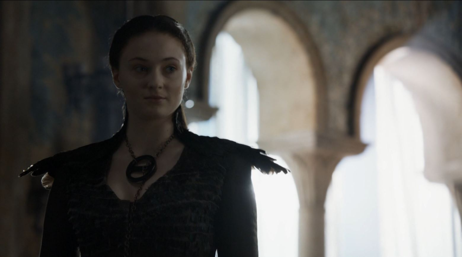 Game of Thrones 'The Mountain and The Viper' Review http://scifiempire.net Game of Thrones - Sansa in corset dress