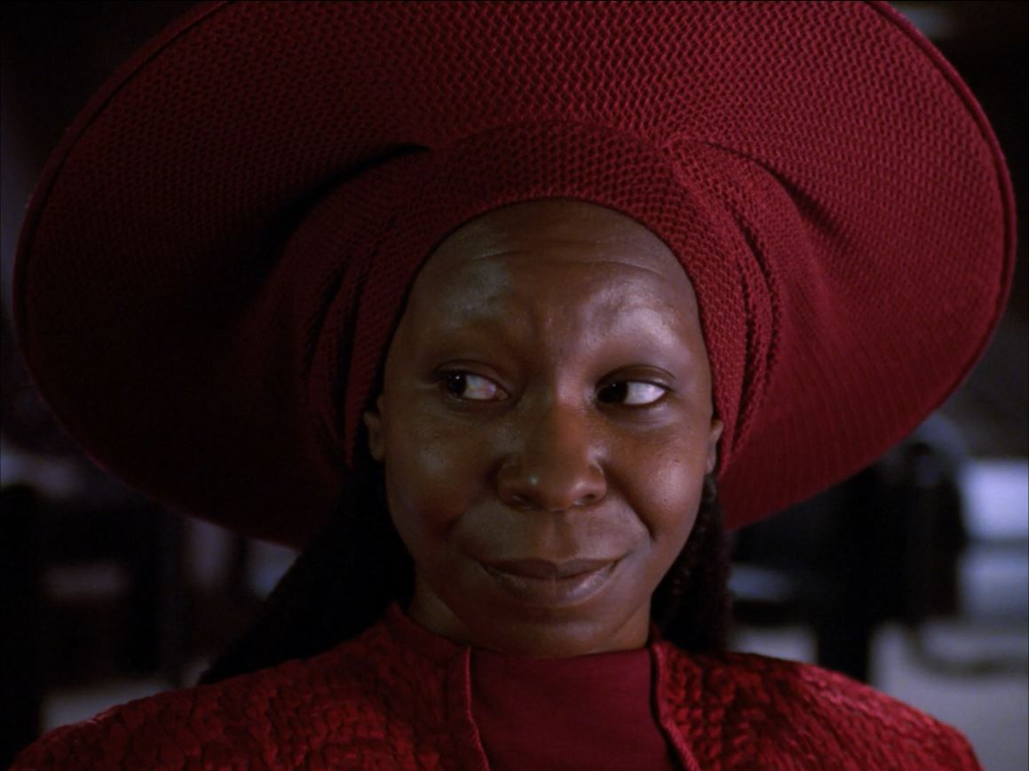 Star Trek The Next Generation Season 6 Blu-ray Review - Guinan