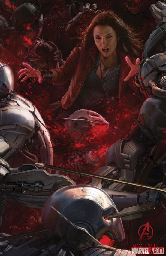 Avengers Age of Ultron Scarlet Witch Elizabeth Olsen - www.scifiempire.net