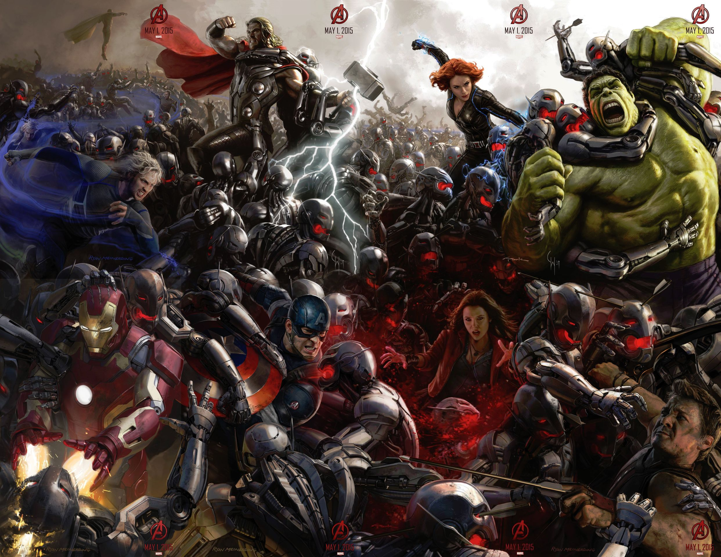 Avengers Age of Ultron full character poster - www.scifiempire.net