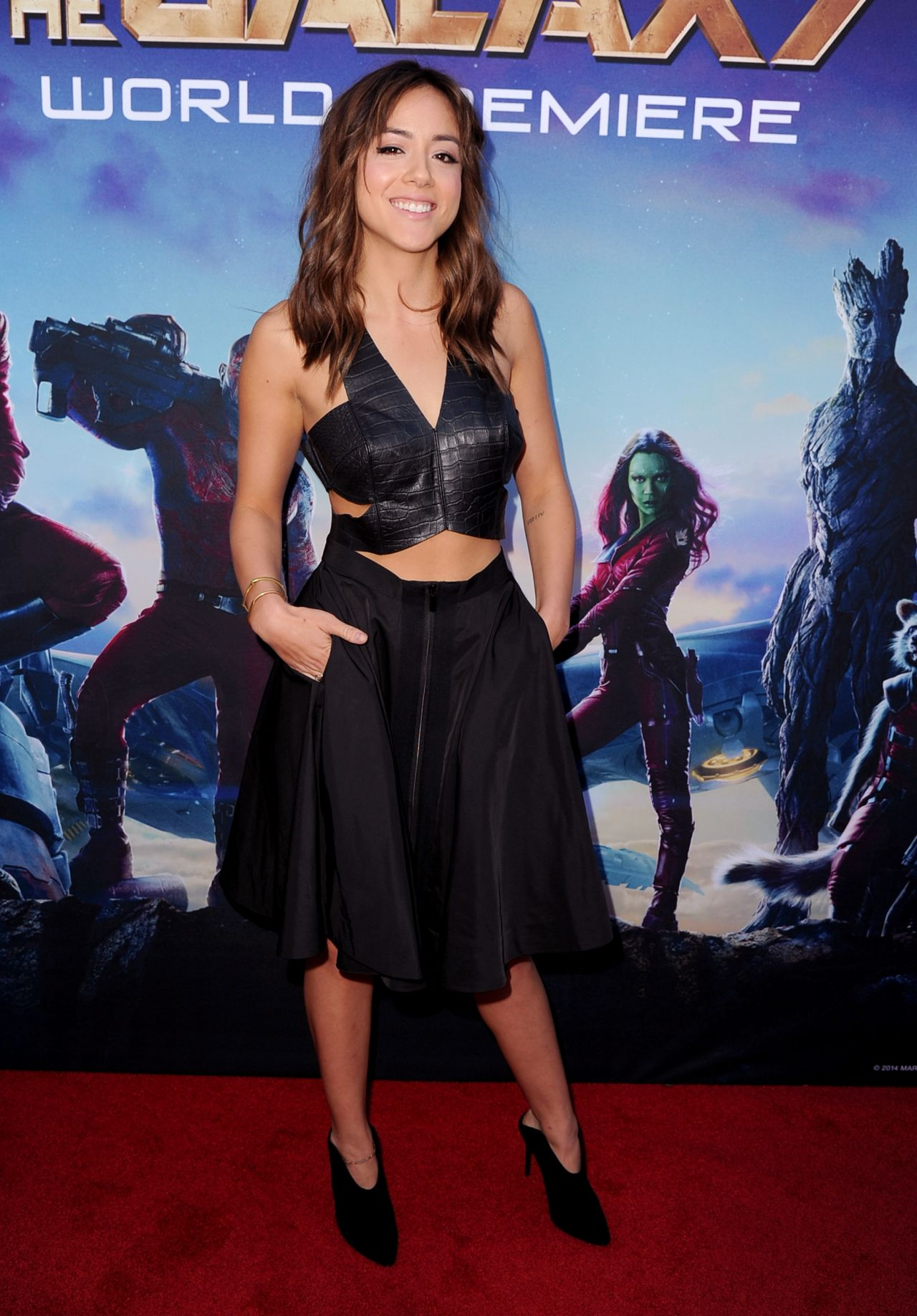 Chloe Bennett at Guardians of the Galaxy premiere www.scifiempire.net