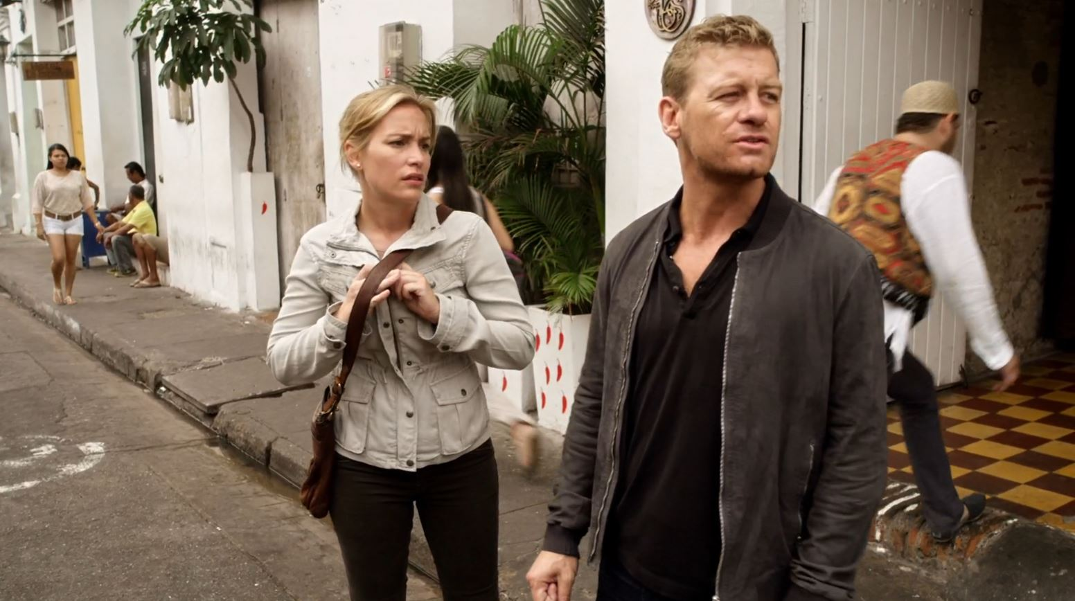 Covert Affairs S5Ep2 False Skorpion Review - Annie teaming up with McQuade