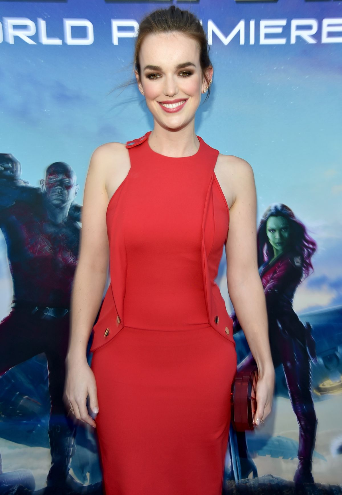 ELIZABETH HENSTRIDGE at Guardians of the Galaxy premiere www.scifiempire.net