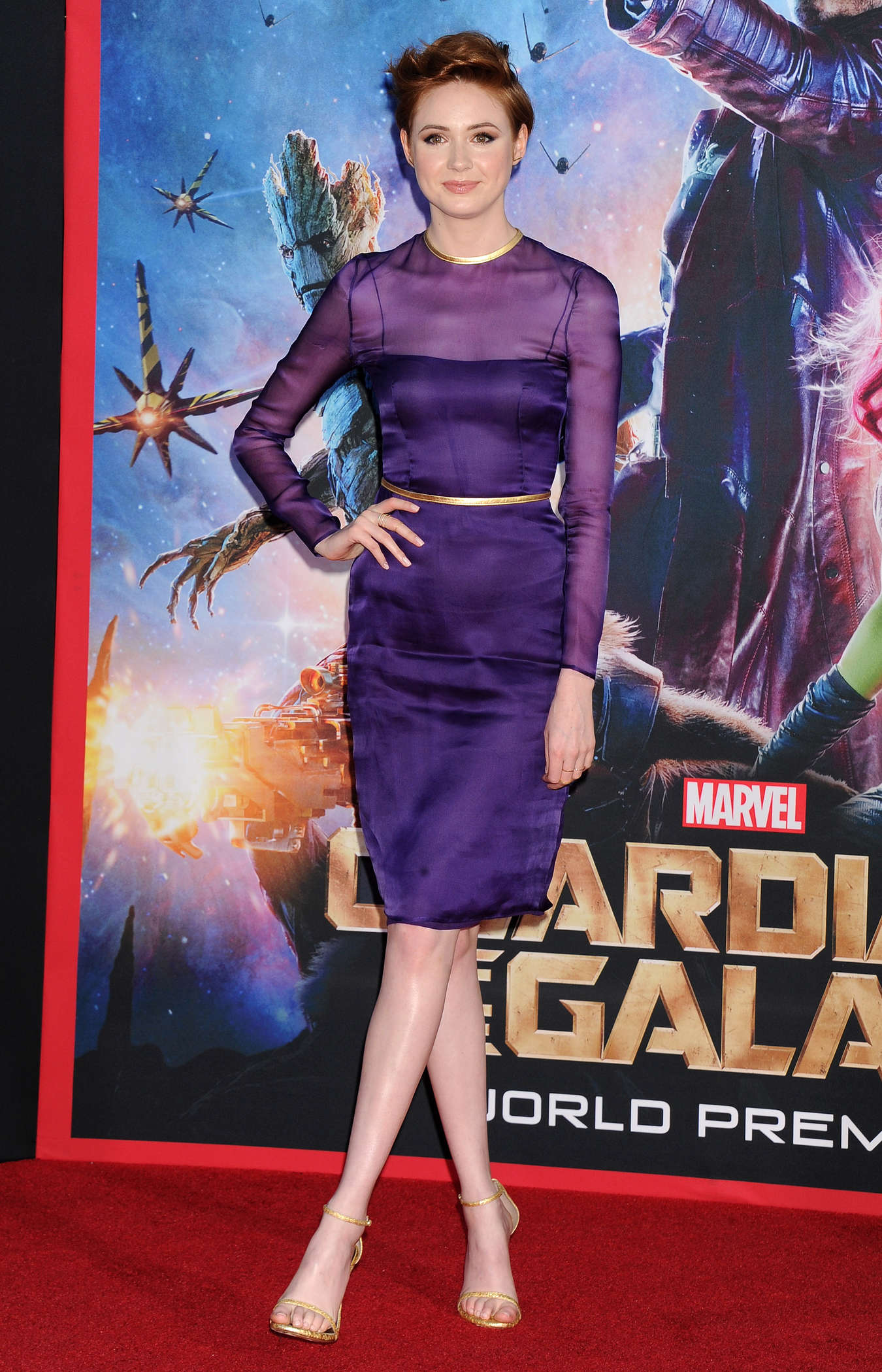 Karen Gillan at Guardians of the Galaxy premiere www.scifiempire.net