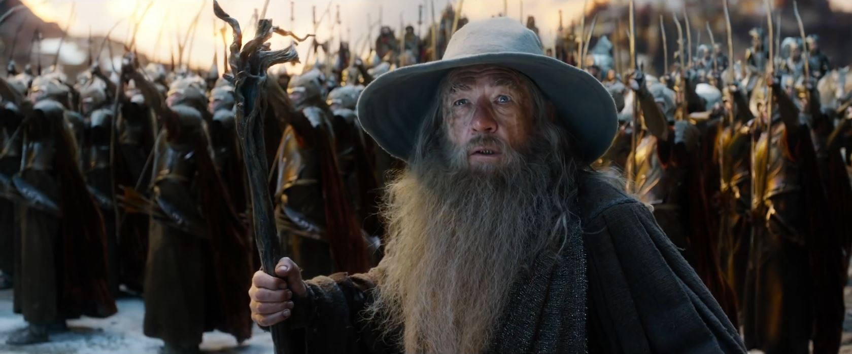The Hobbit The Battle of the Five Armies Trailer - Ian McKellen as Gandalf