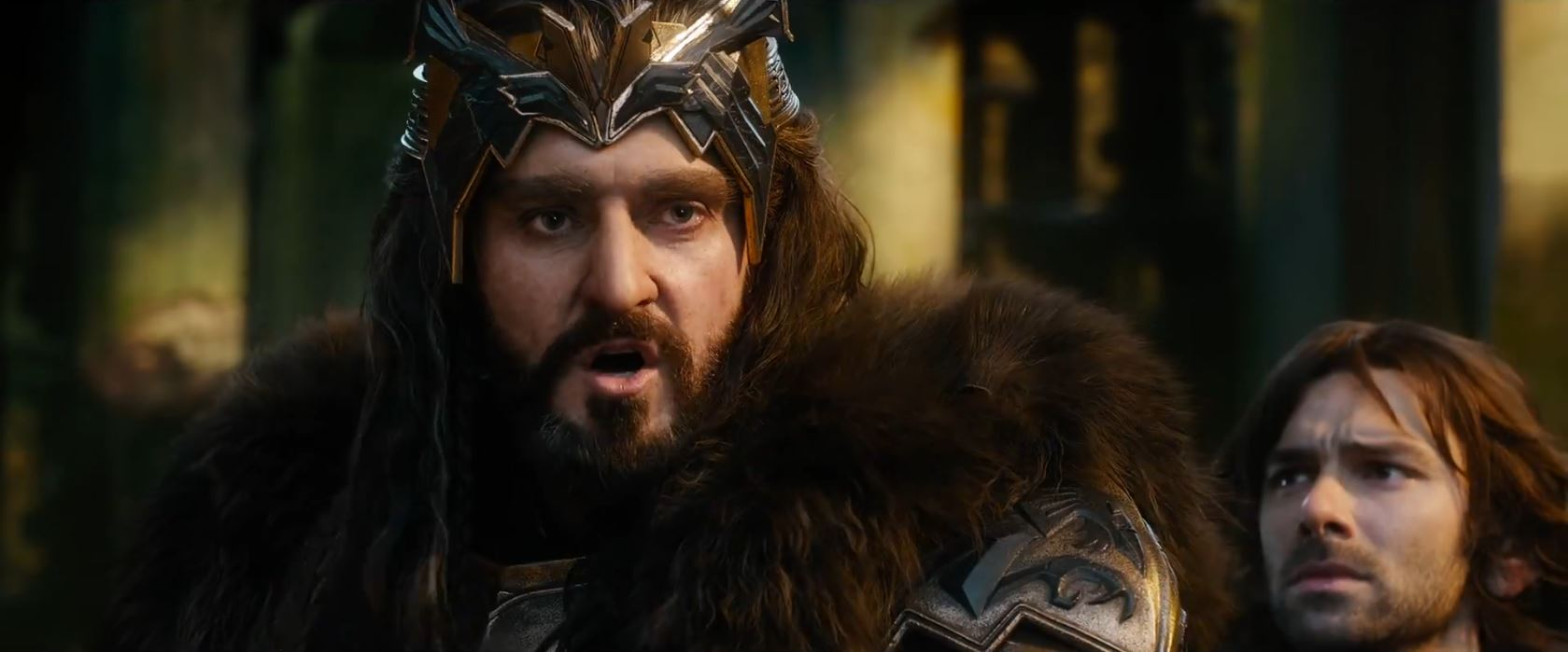 The Hobbit The Battle of the Five Armies Trailer - Thorin Oakenshield