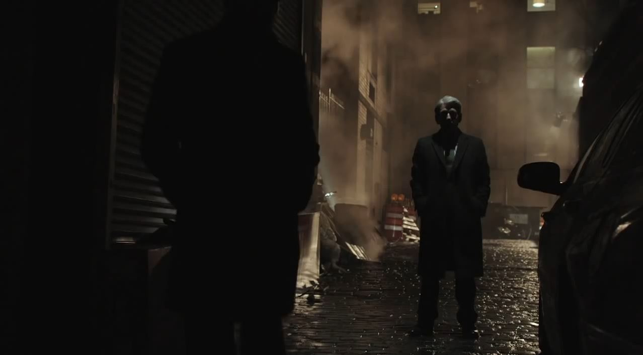 Person of Interest Season 4 Preview - John Greer in the shadows
