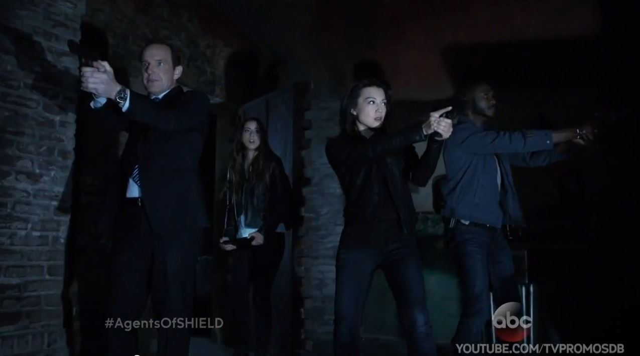 Agents of SHIELD Season 2 Trailer and Preview - The team consisting of Skye, Coulson, May and Triplett