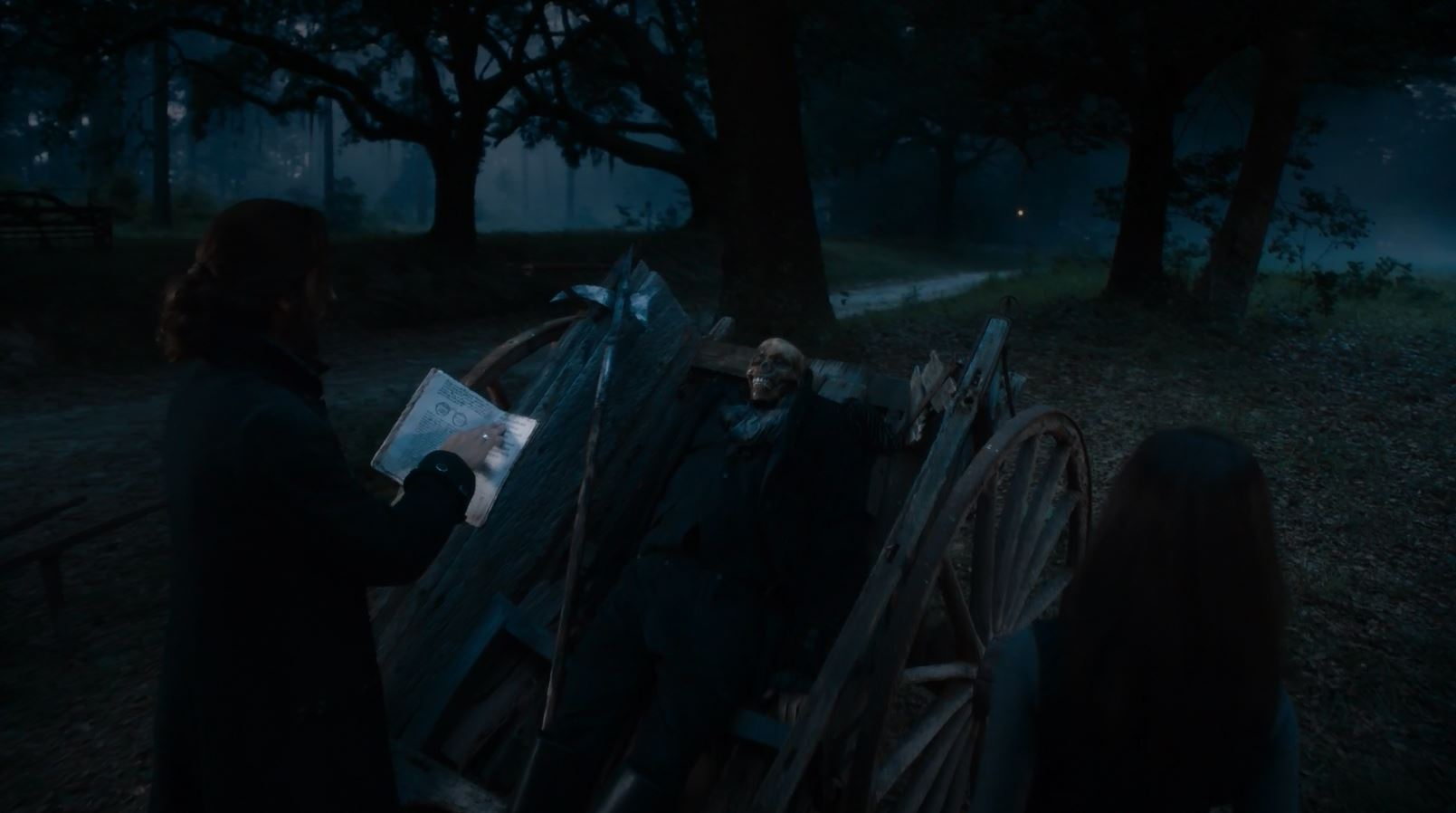 Sleepy Hollow S2Ep2 The Kindred Review - Ichabod and Abbie raising Franklin-stein