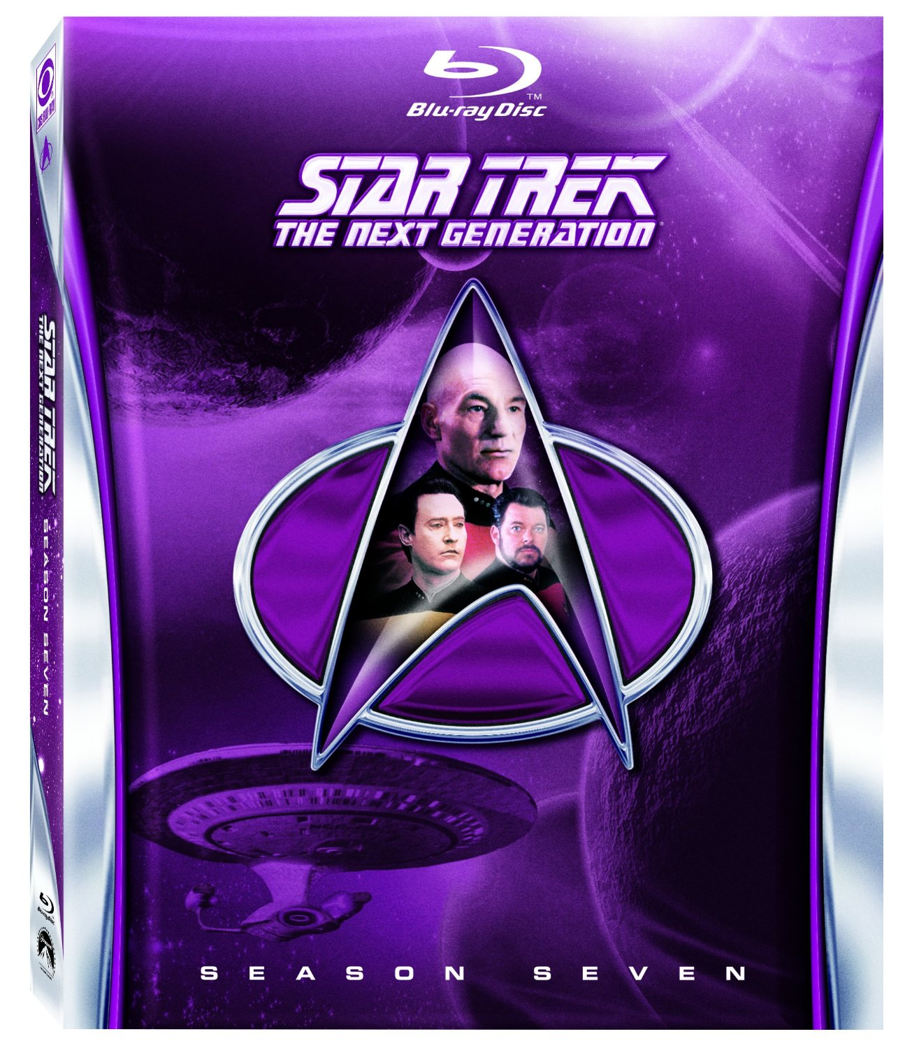 Star Trek TNG Season 7 Blu-ray cover Star Trek TNG Season 7 Blu-Ray Trailer
