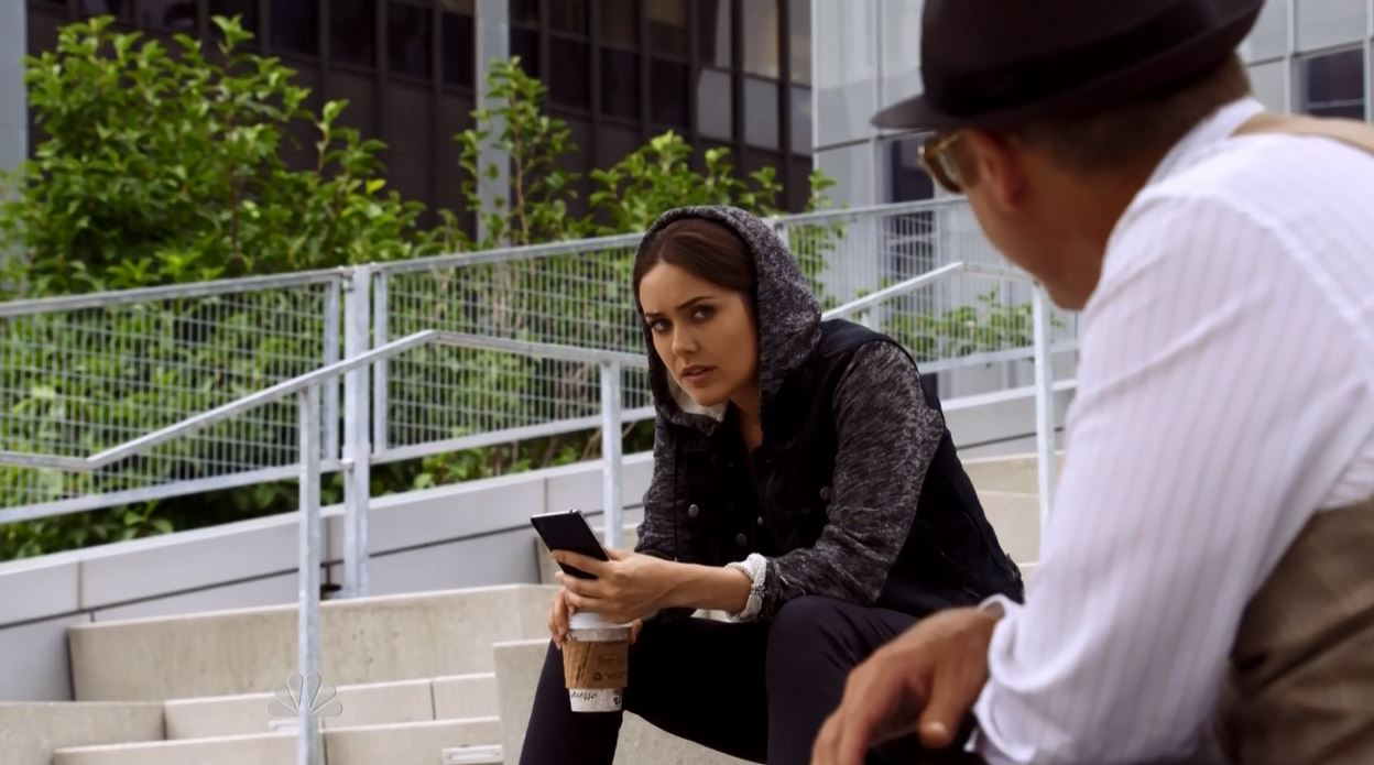 The Blacklist Season 2 Lord Baltimore (No. 104) Review - agent Keen talking to reddington
