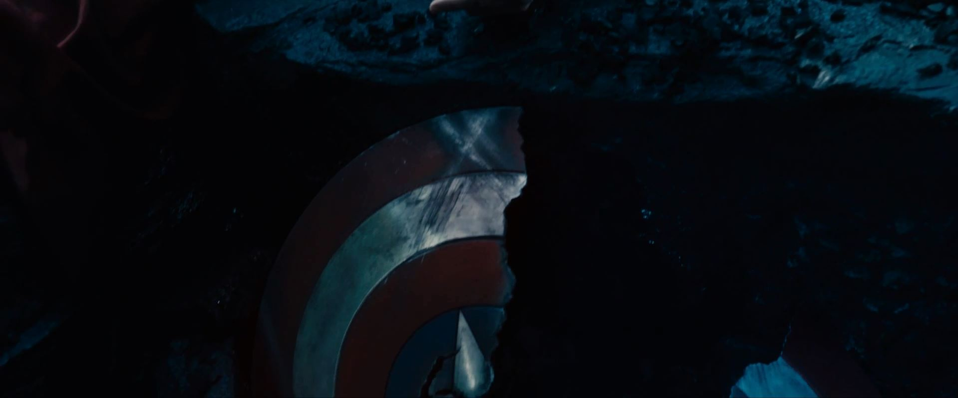 Avengers Age Of Ultron Trailer Released - Broken Captain America shield