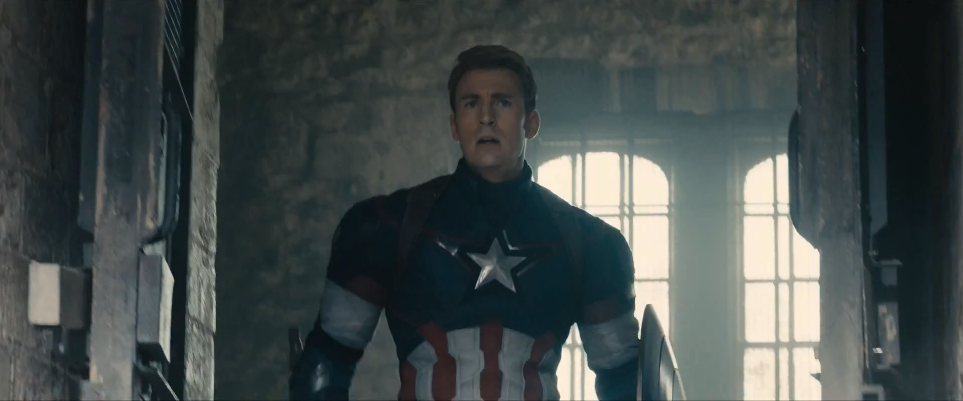 Avengers Age Of Ultron Trailer Released - Chris Evans as Steve Rogers Captain America