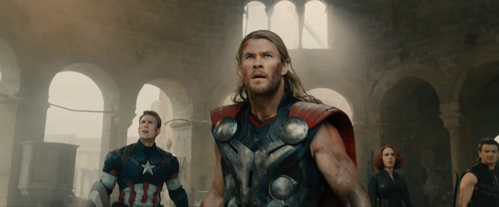 Avengers Age Of Ultron Trailer Released - Chris Hemsworth as Thor