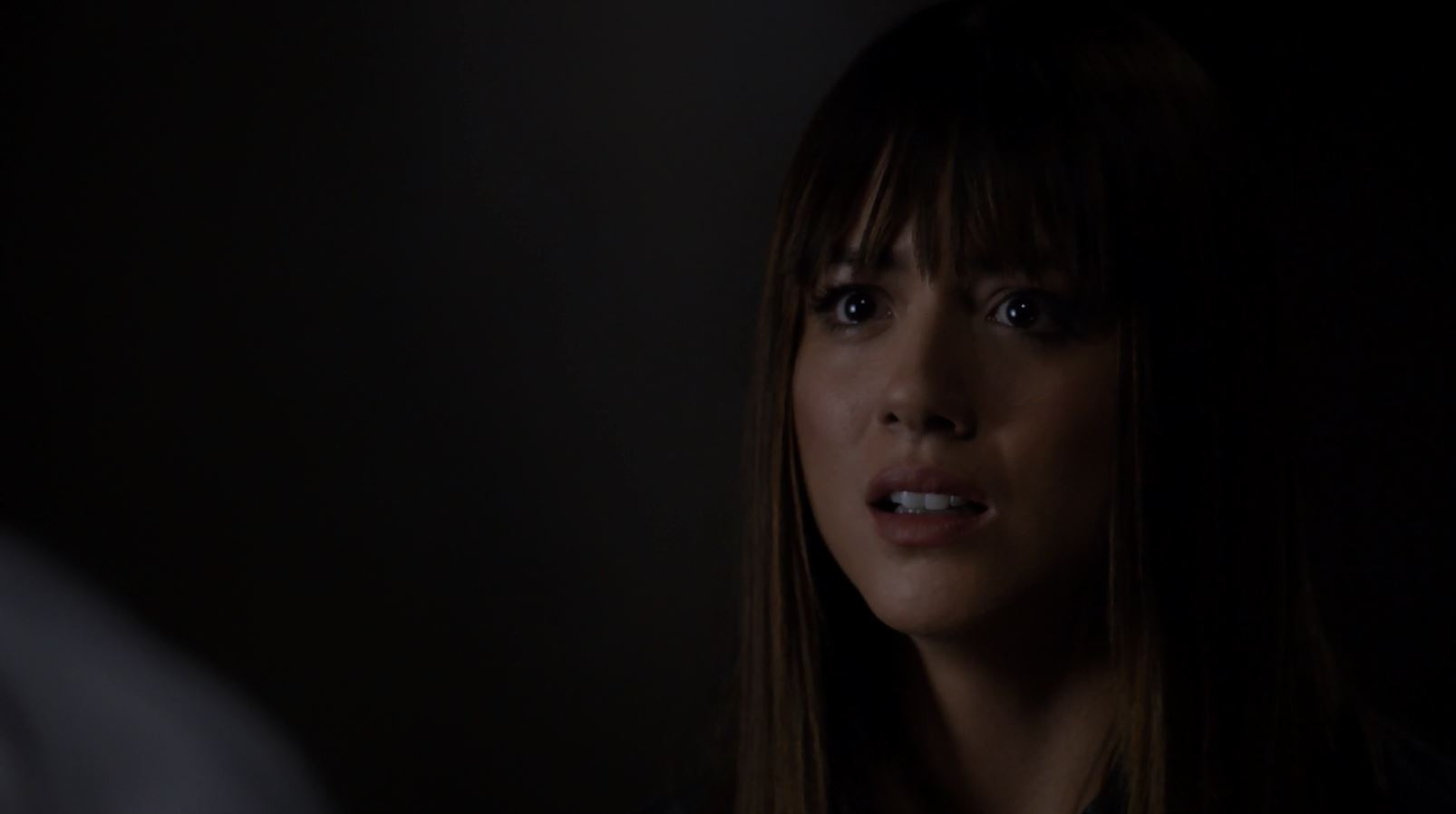 Skye (Chloe Bennet) confronting Ward - Agents Of SHIELD S2Ep6 A Fractured House Review