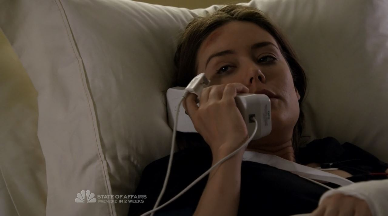 Agent Keen in hospital - The Blacklist S2ep7 The Scimitar Review