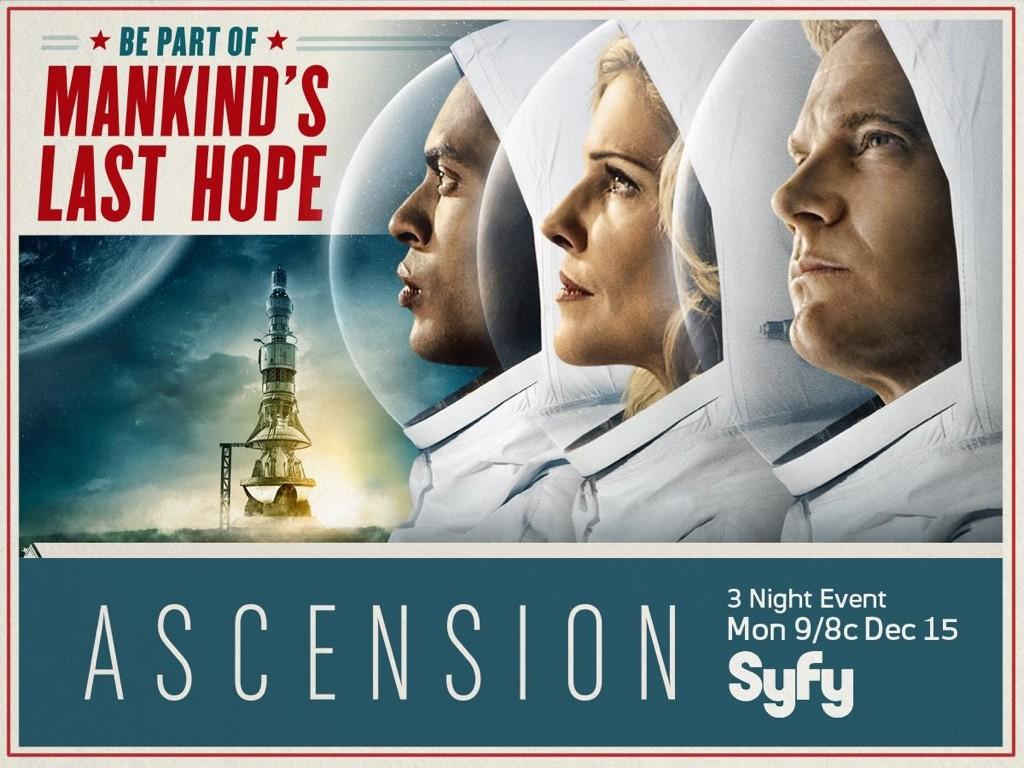 Ascension syfy poster - Be part of Mankind's last hope. William Shatner joins Haven