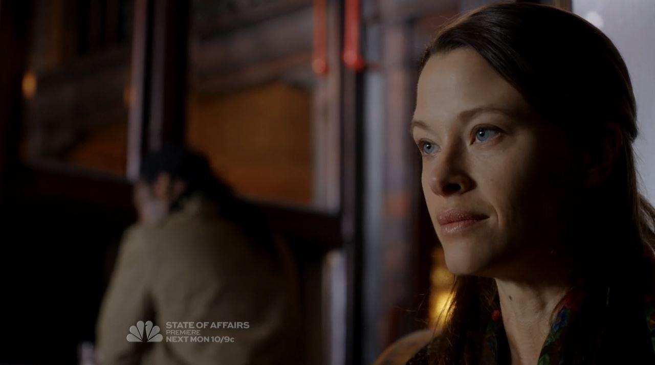 Berlin's daughter Zoe - The Blacklist mid-season finale The Decembrist Review