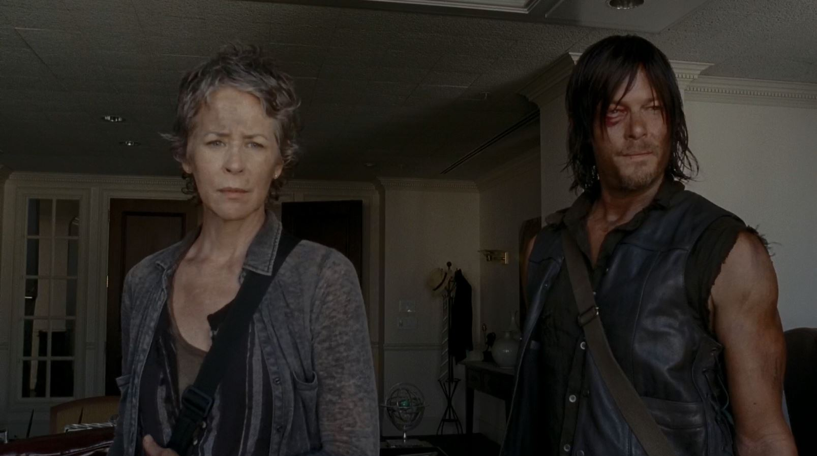 Carol and Daryl look at Atlanta - The Walking Dead S5Ep6 Consumed Review