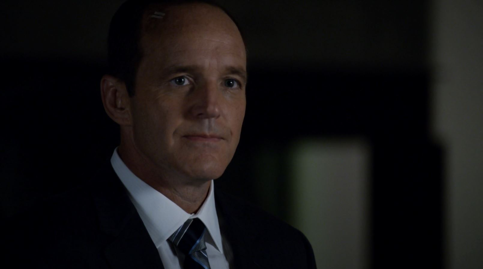Director Phil Coulson played by Clark Gregg - Agents of SHIELD The Writing on the Wall Review