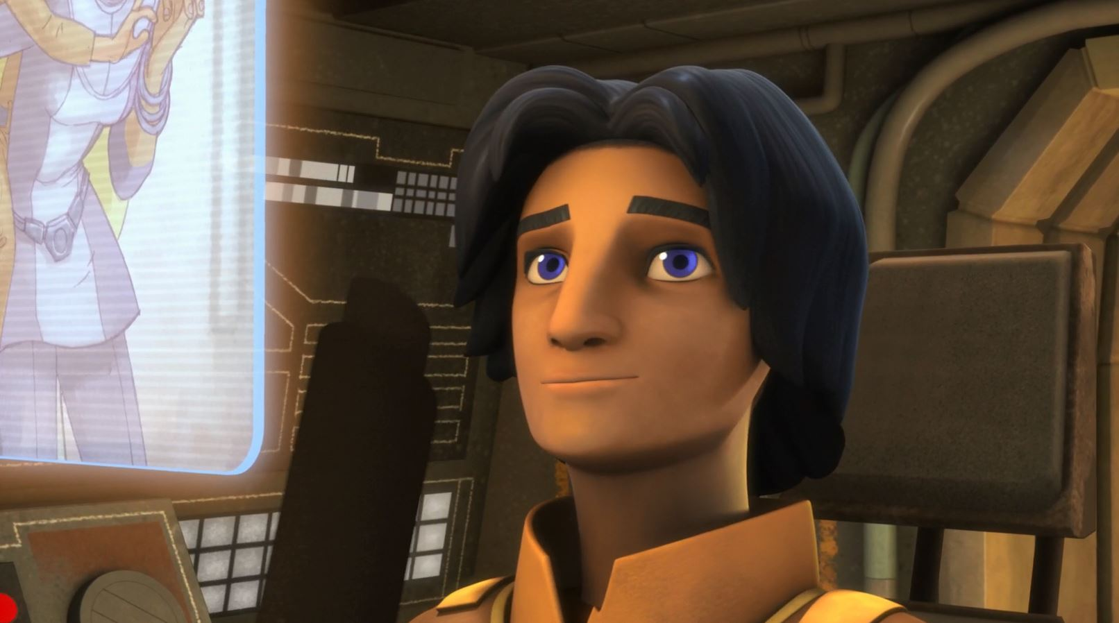 Ezra looks at a picture of his parents. Star Wars Rebels Gathering Forces Review