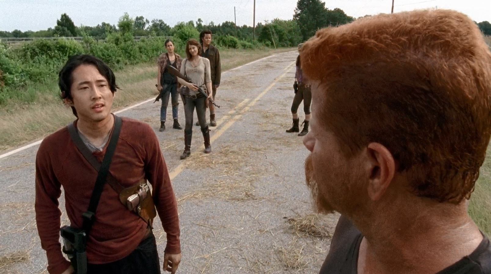 Glenn confronts Abraham about going south - The Walking Dead - Self Help - Review